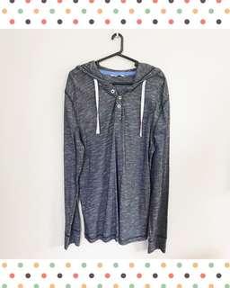 Gray Hoodie Jacket