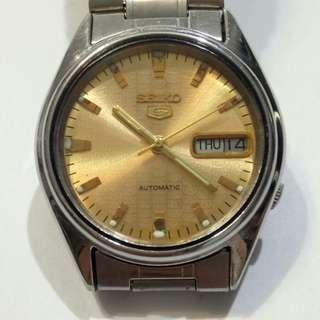 SEIKO 5 Autumotic Watch Bezel 35mm