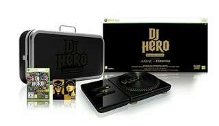 Xbox 360 DJ Hero Renegade Edition (Collector's Item)