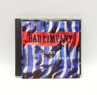 Bad Company Company Of Strangers CD
