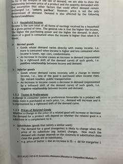 ACJC H2 ECONS NOTES CLEARANCE