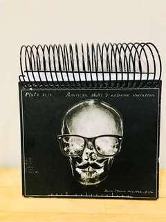 Typo X-Ray Skull Glasses & Mustache Sketch Pad