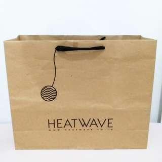 Paperbag heatwave
