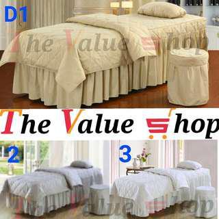 Premium 4 in 1 Massage Bed Bedsheet Set