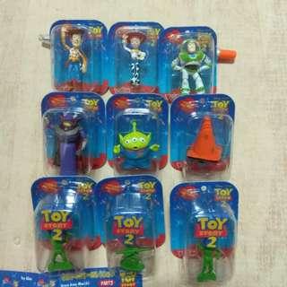 🚚 yujin 玩具總動員 公仔 盒玩 玩具 組