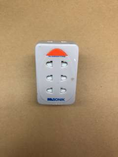 Multi Plug Adaptor (5 way / 2 pins)