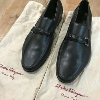 [SALE] Mens Salvatore ferragamo leather black