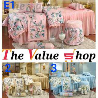 🌟Premium 4 in 1 Massage Bed Bed sheet Set