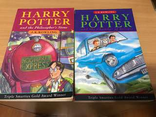 Harry Potter and the philosopher's stone & the chamber of secrets (1997&1998)