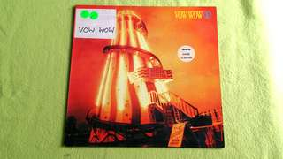 VOW WOW . helter shelter. Vinyl record