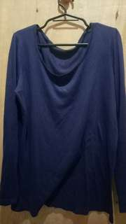Dark blue long sleeves