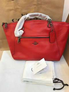 Ready Stock Original Coach winter medium kesley