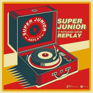 [PRE-ORDER] SUPER JUNIOR - REPACKAGE:REPLAY
