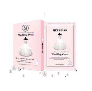 Merbliss Wedding Dress Mask 👰🏻 新娘婚紗保濕面膜