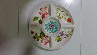 Candy tray dolomite plate