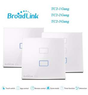 Broadlink TC2 1/2/3 gang (3 smart switches)