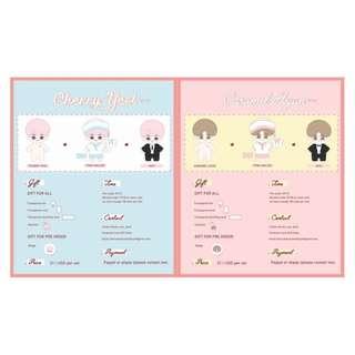 CHANYEOL & BAEKHYUN - Cherry Yeol & Caramel Hyun doll