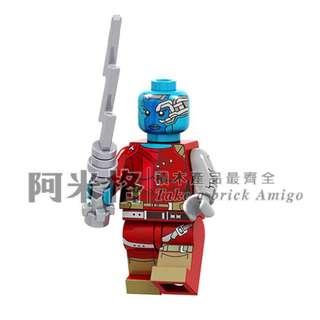 阿米格Amigo│PG1561 星雲 涅布拉 Nebula 星際異攻隊2 銀河護衛隊 品高 第三方人偶 非樂高但相容