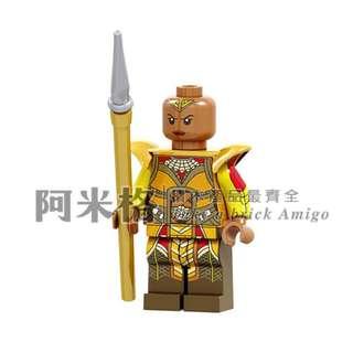 🚚 阿米格Amigo│PG1564 奧克耶 Okoye 黑豹 超級英雄 Black Panther 第三方人偶 非樂高但相容