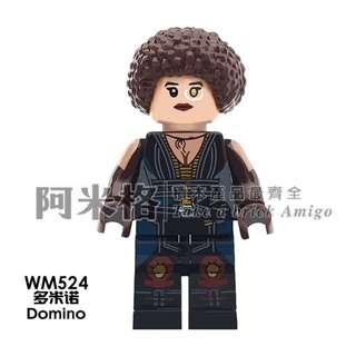 🚚 阿米格Amigo│WM524 多米諾 Domino 死侍2 Deadpool2 X特攻隊 積木 第三方人偶 非樂高但相容