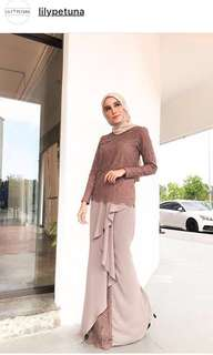 Lily Stephanie by Lily Petuna in Mauve Colour. NWT, Size M 🌼