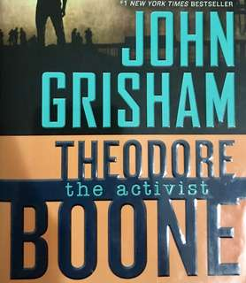 Theodore Boone 'The Activist' by John Grisham