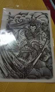 🚚 齊天大聖 紋身貼紙