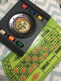 Roulette With bet board