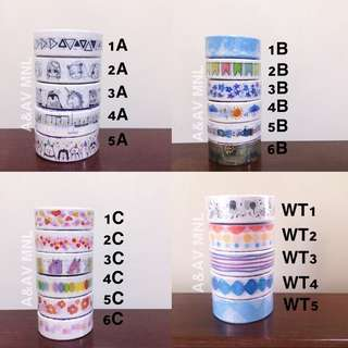 Washi Tapes SALE