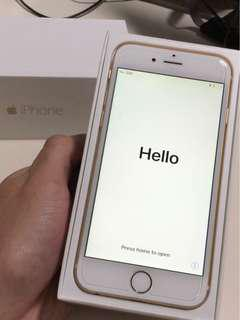GOOD COND. IPHONE 6 64GB GOLD