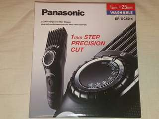 全新 樂聲牌 剪髪器 PANASONIC RECHARGEABLE HAIR CLIPPER ER-GC50