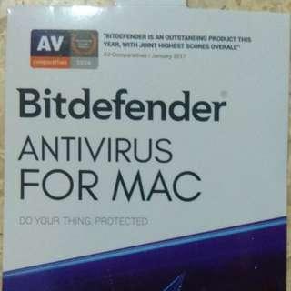 Mac antivirus (Bitdefender)