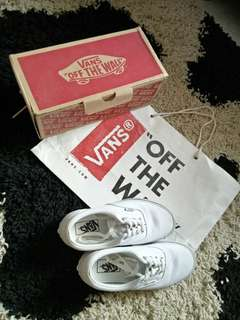 Vans off the wall Era classic white
