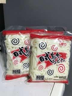 全新  超力日式烏冬 Chewy instant udon @200g $10/3包