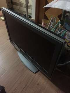 Sony 32寸電視 靚仔 (欠遙控)No HDMI 收到基本台