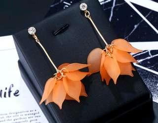 Tassel Flower Earrings