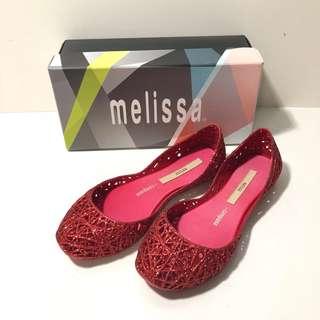 🚚 Kid's 小朋友的 Melissa+Campana香香鞋 巴西尺寸32/33(Mel 經典鳥巢娃娃鞋-桃紅色亮粉)