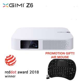 Z6 GiMi projector 1080p output