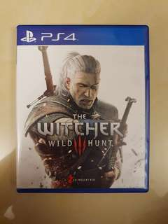 PS4 : The Witcher 3 : Wild Hunt
