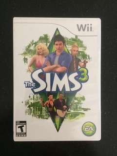 Wii Sims 3 - collect by 25 June