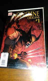 Marvel Wolverine  Origins Variant #1,2,8and 10.