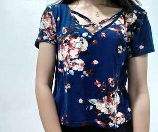 Floral trendy top
