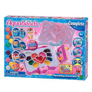 Brand New Aquabeads Sparkling Jewel Box