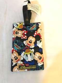 立體迪士尼行李牌