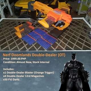 NERF DOOMLANDS DOUBLE-DEALER (OT)