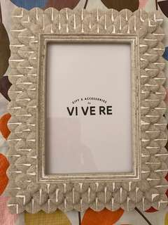 vivere photo frame made from stone