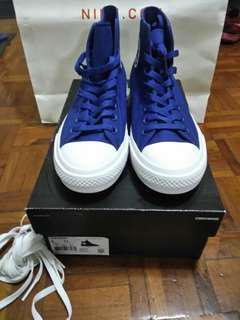 全新CONVERSE CHUCK TAYLOR II HI TOP SODALITE BLUE  US9 EUR42.5 SHOE 布 波鞋