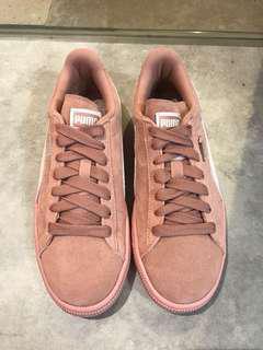 🚚 PUMA 霧粉 板鞋