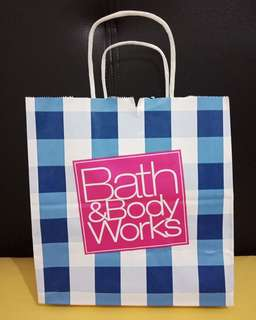 Paperbag bath and body works