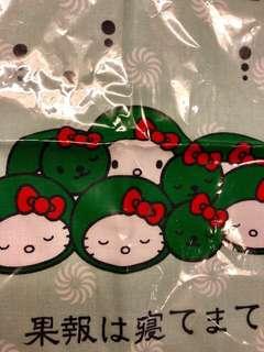 ❣️(包郵) 全新 北海渡限量版 Hello Kitty 手巾